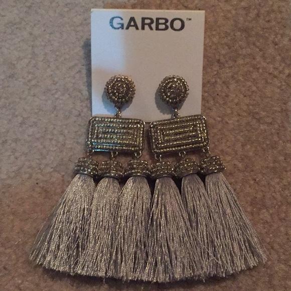 Garbo tassel earrings